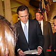 Governor Mitt Romney At The State House Department  April 6, 2006
