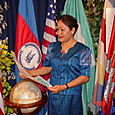 Bory Kem is the mother of the Cambodian Women Support Freedom of Rights.