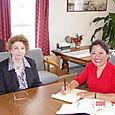 Carol Duncan, Executive Director of Girls Inc of Lowell, Massachussetts